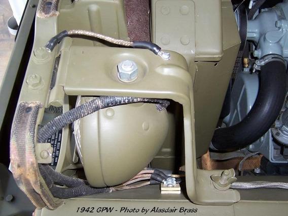 Suportes Faróis Jeep Willys Gpw Mb Cj3 Cj2
