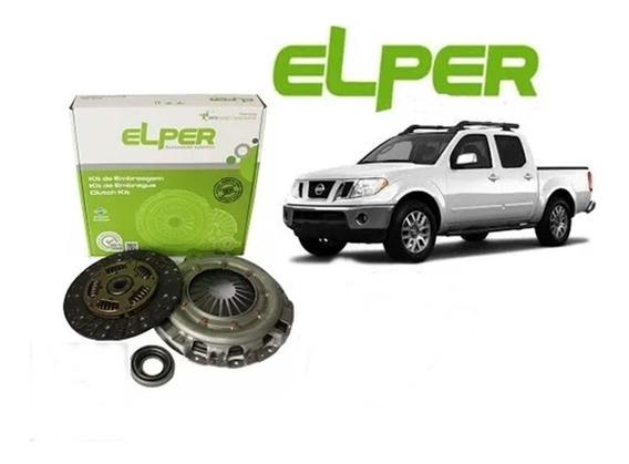 Kit Embreagem Original Elper Nissan Frontier 2.5 2013 2014