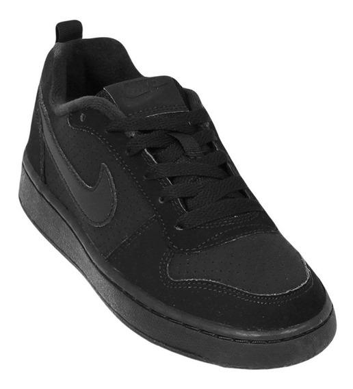 Tênis Infantil Nike Court Borough Low 839985 | Katy Calçados