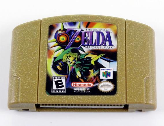 The Legend Of Zelda Majoras Mask Nintendo 64 Novo Salvando