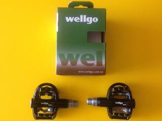 Pedal Bike Wellgo W44b Com Clip E Plataforma