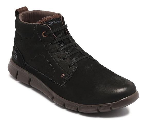 Bota Kildare Couro Anilina Saddle Black 1042.6500