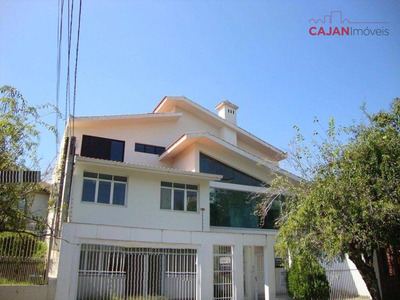 Casa Residencial E Comercial Com 4 Suítes E 3 Vagas No Partenon - Ca0197
