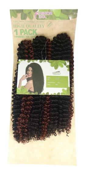 Cabelo Cacheado Crochet Braid Fashion Idol Tulipa 70cm 250gr