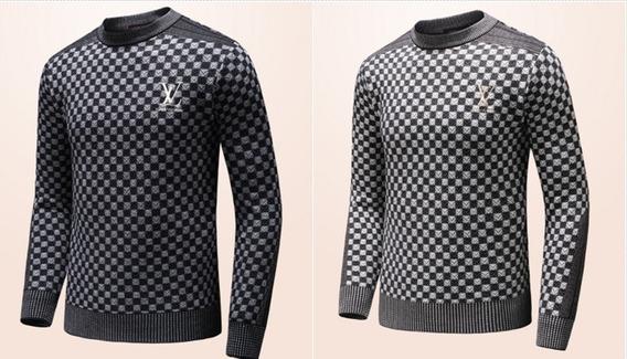 Suéter/blusa De Linho Louis Vuitton - Pronta Entrega