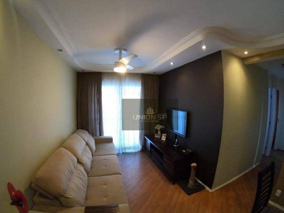 Apartamento Com 3 Dormitórios À Venda, 64 M² Por R$ 370.000,00 - Interlagos - São Paulo/sp - Ap39221