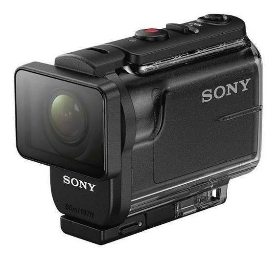 Action Cam Sony Con Estuche Marino Y Fotos 4k-hdr-as50