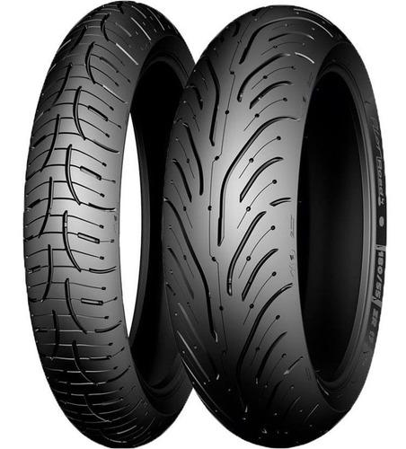 Cubierta Michelin 190 50 17 Pilot Road 4 Zr Pista Cuotas
