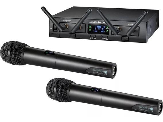 Microfone Dinâmico Sem Fio Atw1322 Audio Technica Com Nota
