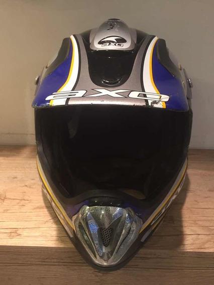 Capacete Motocross Axo