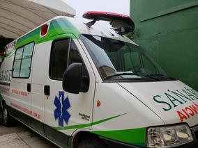 20eb50f30 Ambulancia Uti Móvel -ducato Minibus 2.3 Diesel Tetoalto