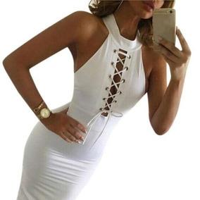 Vestido Blanco Sexy Pagado