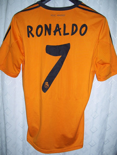 Real Madrid Fabulosa adidas Naranja Fly 2013 Cr7 Impecable