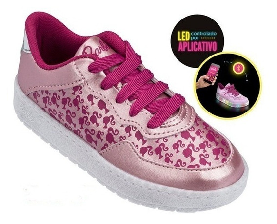 Tenis Grendene Barbie Lights 12/2017 21812 Bco Leitoso/rs