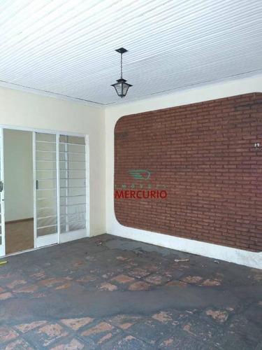Casa Com 2 Dormitórios À Venda, 93 M² Por R$ 310.000,00 - Jardim Cruzeiro Do Sul - Bauru/sp - Ca2888