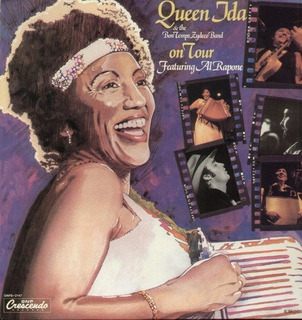 Vinilo The Queen Ida And The Bon Temps Zydeco Band On Tour [