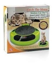 Brinquedo Para Gato Pegue O Rato Ratinho Com Arranhador