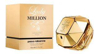 Perfume Lady Million Para Dama Paco Rabanne 80ml Originales
