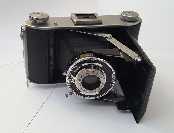Câmera Fotográfica Antiga De Fole Ensign Made In England