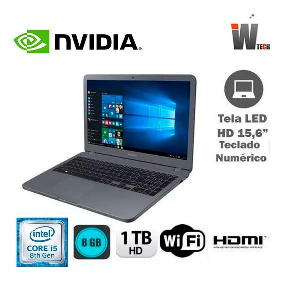 Notebook Samsung I5 8 Ger 8gb 1tb 15,6 - Black Friday