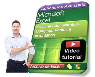 Sistema Administrativo Compras Ventas Inventarios Ver Video