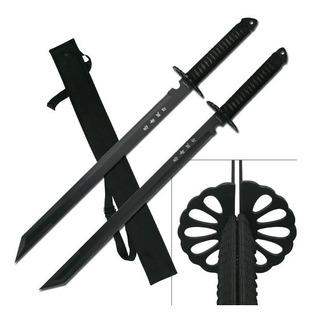 Doble Ninjato Con Funda Espada Katana Envio Gratis Hk-6183