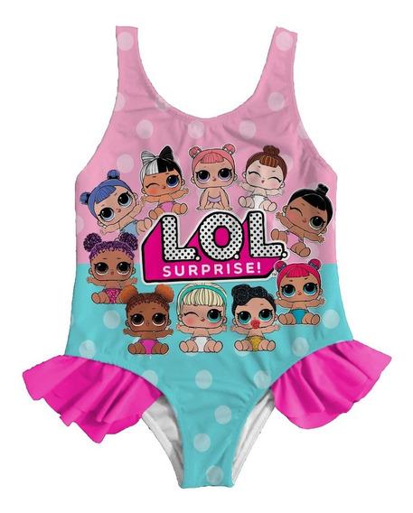 Vestido Traje De Baño Muñecas Lol Surprise Moana Bebe