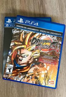 Dragon Ball Fighter Z Ps4 Blu-ray Fisico. Permuto.