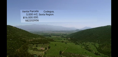 Venta Eco Parcela, Rancagua 5.000 M2, $16.000.000. Oportunid