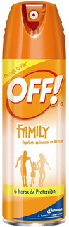 Off Family Off! Repelente De Mosquitos Aerosol 6 Horas 170gr