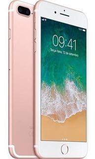 Smartphone Apple Celular iPhone 7 Plus 32gb Dourado Novo Original Barato