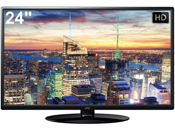 Tv Led Aoc 24 Le24h1351 Hd Isdb-t Digital Hdmi/usb