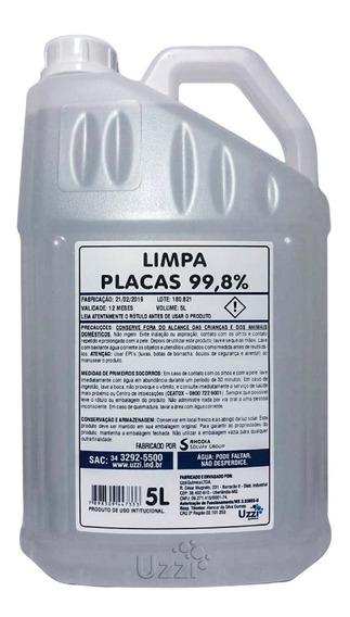 Limpa Placas Uzzi 99,8% - 5 Litros Mercado Envios