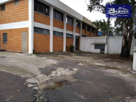 Galpão Industrial Para Locação, Cumbica, Guarulhos. - Ga0034