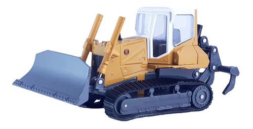 Maquina Bulldozer Escala 1:50 Metalica Colección Juguete.