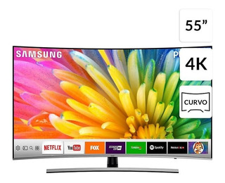 Samsung Led 55nu-8500 4k Ultra Hd Smart Tv Curvada