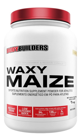 Waxy Maize 1kg Natural Bodybuilders Full