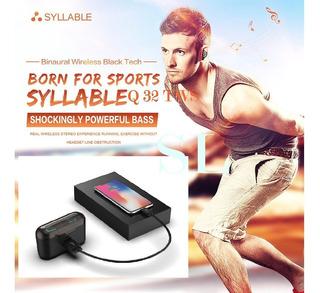 Audífonos Syllable Q32 Carga Celular 2019