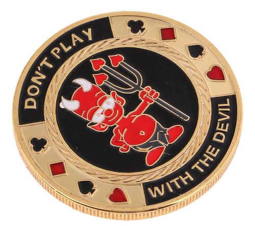 Imagen 1 de 6 de Banquero Chips Tarjeta De Prensa Poker Souvenir Monedas