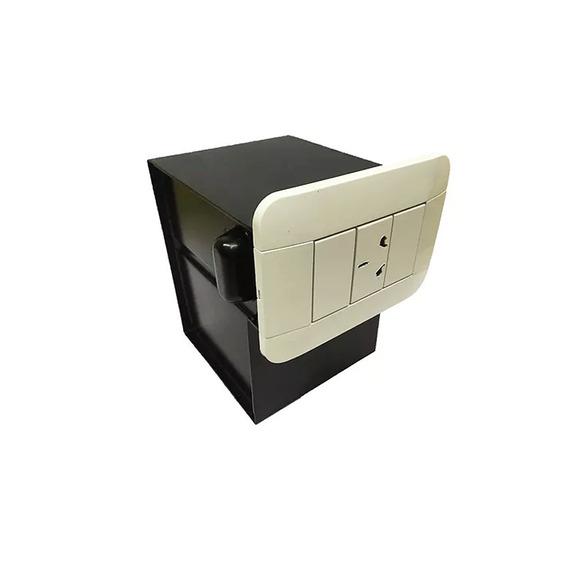Caja Fuerte Camuflada C Toma Y Llaves Doble Compartimiento R
