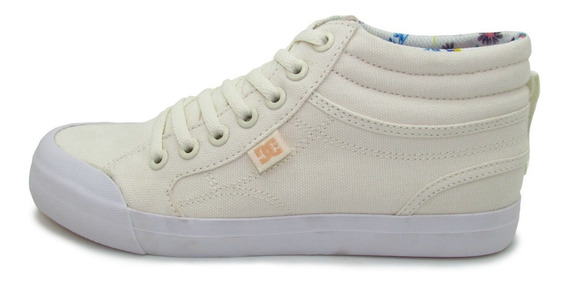 Tenis Dc Shoes Evan Hi Sp Youth Adgs300278 Cre Cream Crema