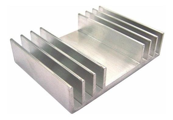 Dissipador De Calor Alumínio 1 Metro Para Leds