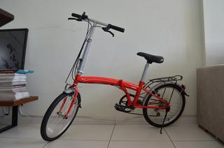 Bicicleta Dobrável Caloi Bend Usada