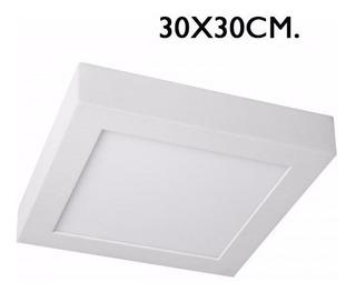Panel Plafon Cuadrado Led 24w 30x30 Alta Potencia Blanco