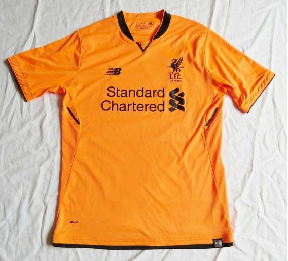 Camisa Liverpool Third New Balance 2017 Comemorativa 125 Ano