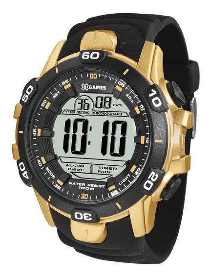 Relógio X-games Masculino Digital Xmppd412 Bxpx Dourado