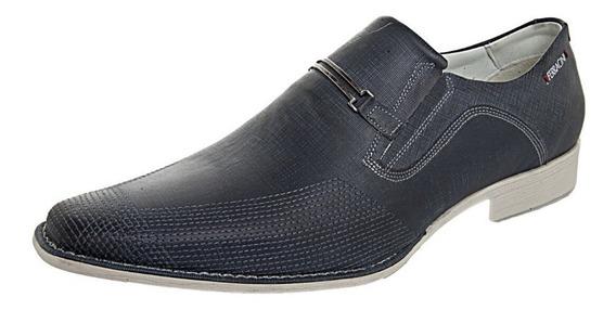 Sapato Ferracini Nobile Azul