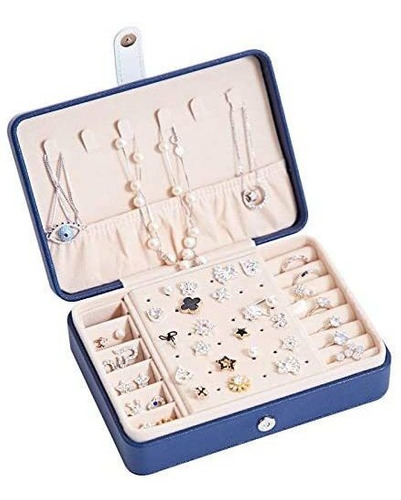 Imagen 1 de 4 de Joyero, Organizador De Joyas, Expositor Caja De Almacenamien