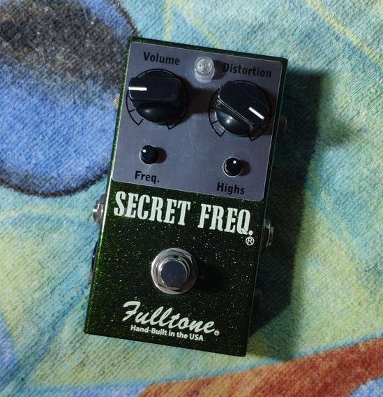 Fulltone Secret Freq. Overdrive -trocas- Willaudio