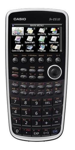 Calculadora De Gráficos En Color Casio Fx-cg10 Prizm (negro)
